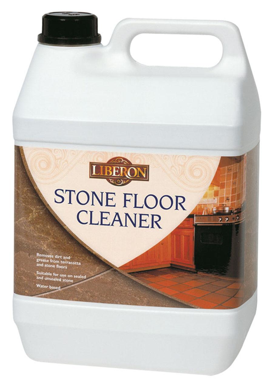 Stone Floor Cleaning : Liberon stone floor cleaner £