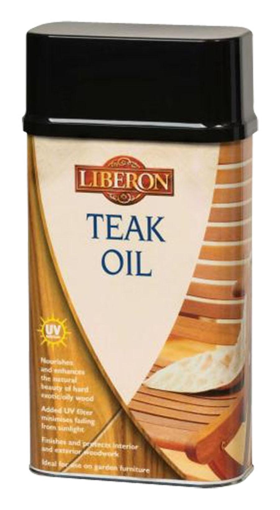 liberon teak oil with uv filter. Black Bedroom Furniture Sets. Home Design Ideas