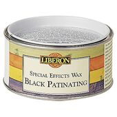 Liberon Special Effects Black Patinating Wax : 9.160000