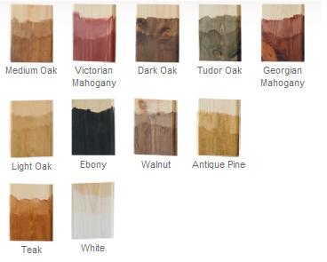 Water Based - 500ml All Colours Liberon Palette Wood Dye