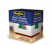 Rustins Plastic Floor Coating : 22.17