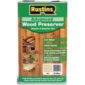 Rustins Advanced Wood Preserver Clear : 9.5