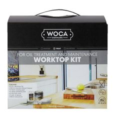 Woca Worktop Kit - Natural