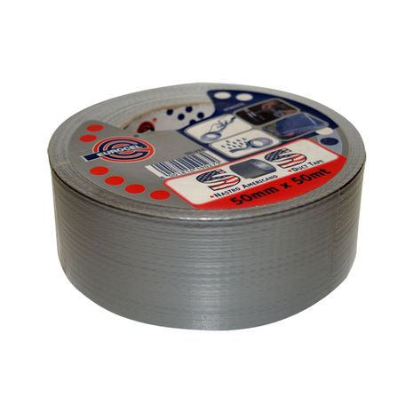 Duct Tape Silver 50mm X 50mtr Roll : 4.740000