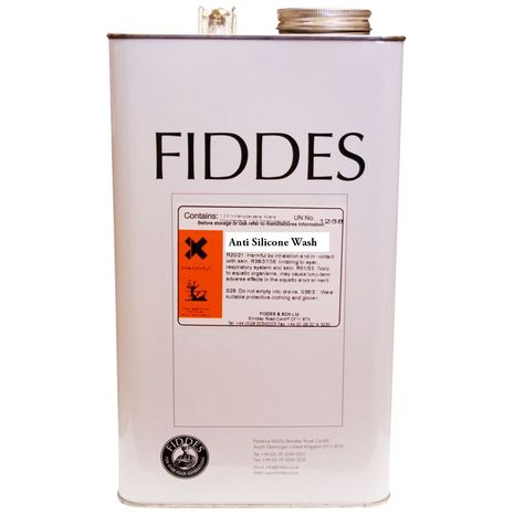Fiddes Anti Silicone Wash 5L : 22.040000