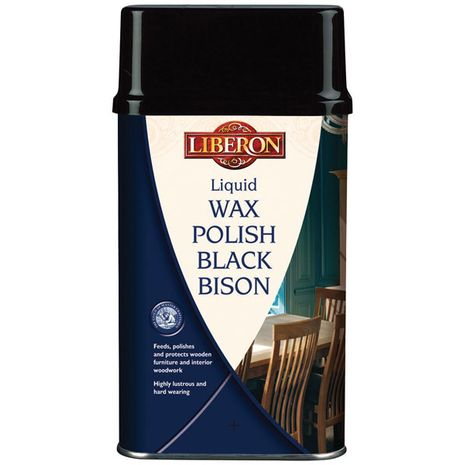 Liberon Black Bison Liquid Wax : 7.86