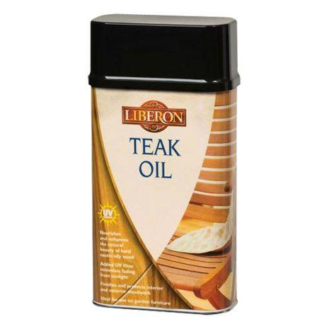 Liberon Teak Oil with UV Filter : 5.36
