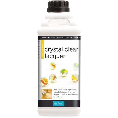 PolyVine Crystal Clear Wood Lacquer : 0.000000