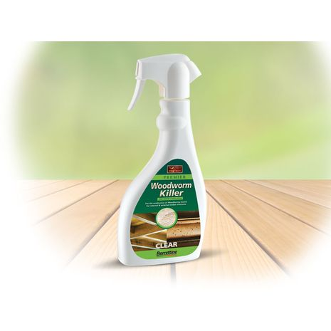 Barrettine Woodworm killer Spray 500ml : 4.790000