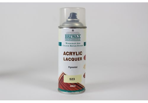 Briwax Professional Acrylic Pigmented Lacquer 400ml