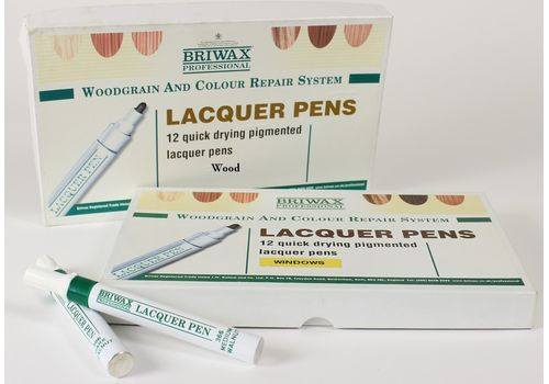Briwax Professional Lacquer pens