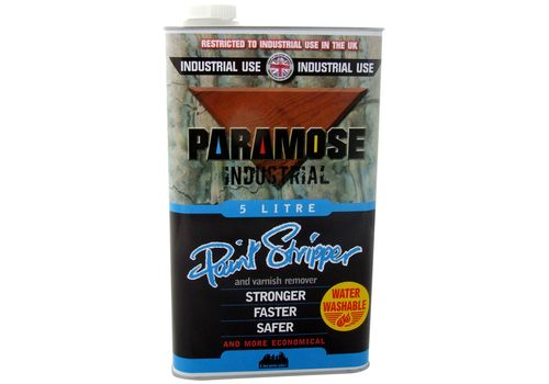 Paramose W/W Paint & Varnish Remover, 5L (Thick)