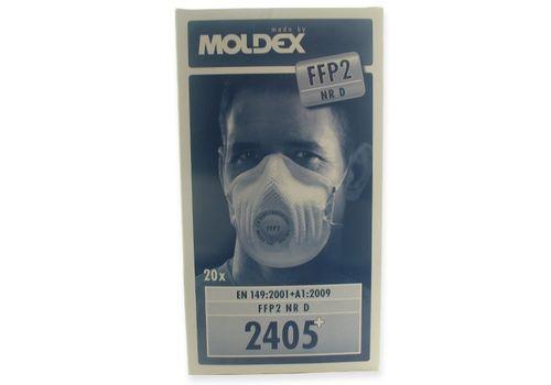 Moldex 2405 Disposable Face Mask FFP2 S (Box of 20)