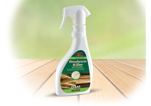 Barrettine Woodworm killer Spray 500ml