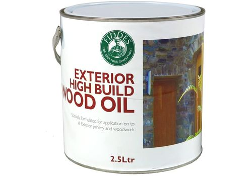Fiddes Exterior High Build Clear Wood Oil
