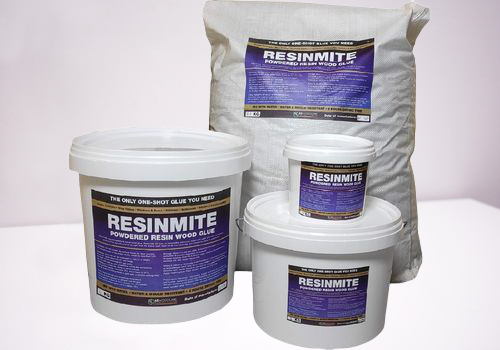 Resinmite: Powdered Resin Wood Glue (One Shot)